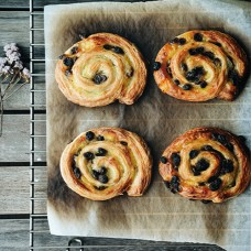 Raisin Swirls - 4pcs