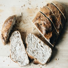Walnut Shallot Bread