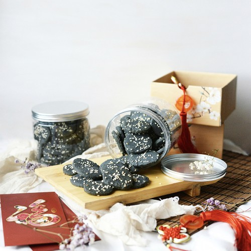 Black Sesame Cookies - 200g