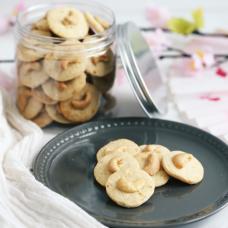 Yuzu Cashew Cookies