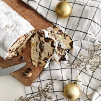 Mini Christmas Raisin Stollen - 220g