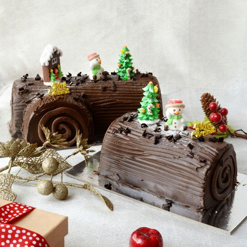 Royal Chocolate Log Cake - 500g