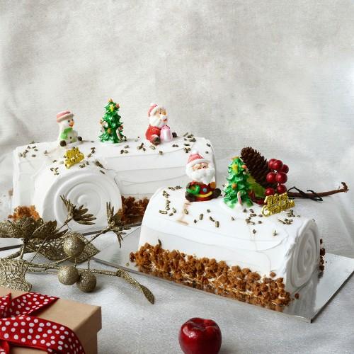 Speculoos Log Cake - 500g