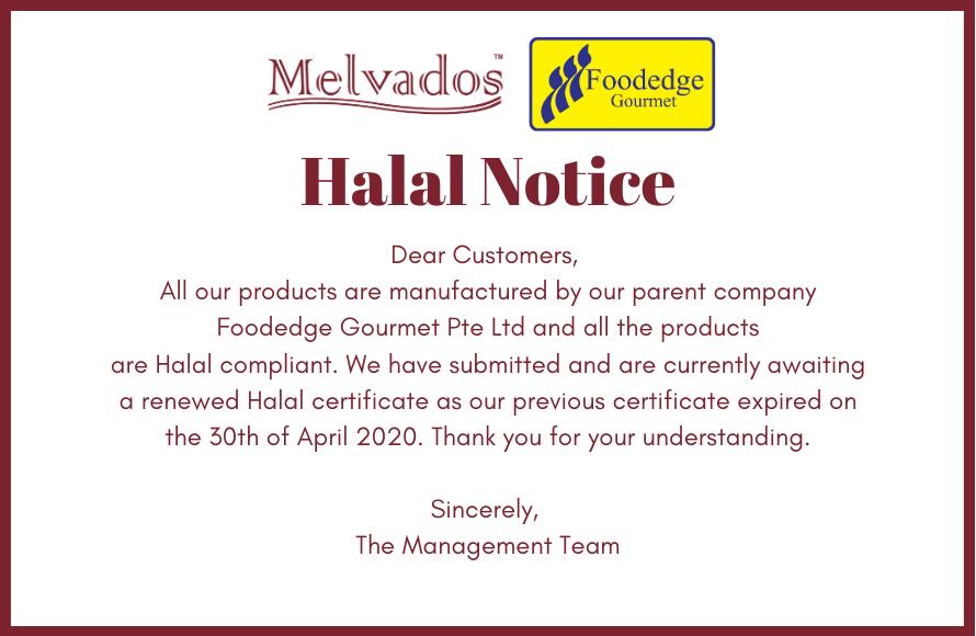 halal notice