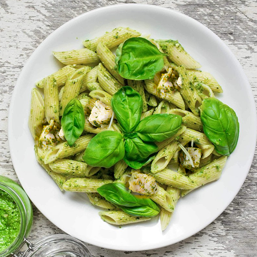Chicken and Basil Pesto Penne