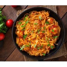 Spicy Veggie Arrabiata Linguine