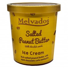 Salted Peanut Butter with Chocolate Ice Cream