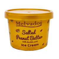 Salted Peanut Butter with Chocolate Ice Cream - 120ml