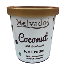 New! Coconut with Chocolate Ice Cream