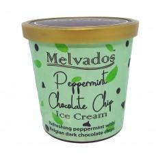 Peppermint Chocolate Chip Ice Cream