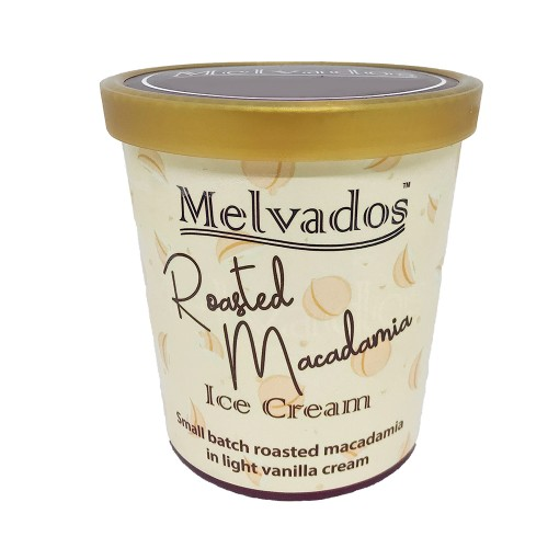 Roasted Macadamia Ice Cream