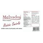 Raisin Swirls - 4pcs