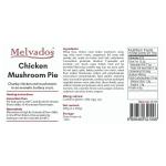 Chicken and Mushroom Pie - 2pcs