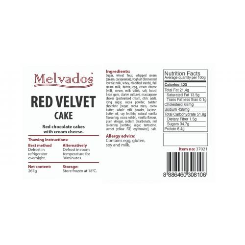 Red Velvet Cake - 4pcs