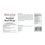 Sambal Beef Wrap - 6pcs