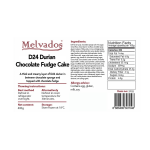 D24 Durian Chocolate Fudge - 4pcs