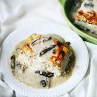 Rice Bake Chicken & Mushroom - 4 Portions