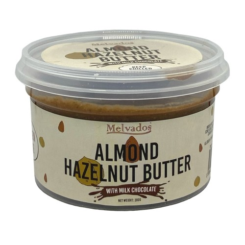 Almond Hazelnut Butter with Milk Chocolate