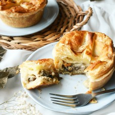 Chicken and Mushroom Pie - 2pcs