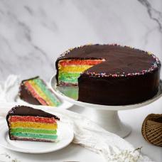 Limited Edition! Chocolate Rainbow Cake