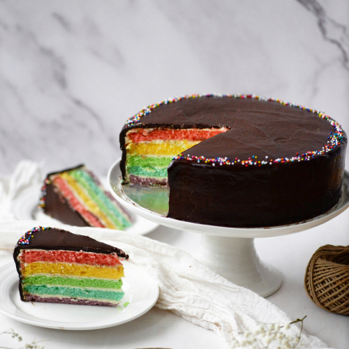 Limited Edition! Chocolate Rainbow Cake