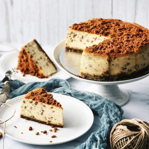 Speculoos Cheesecake Round