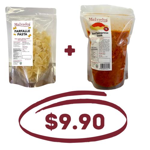 Pasta + Sauce Bundle