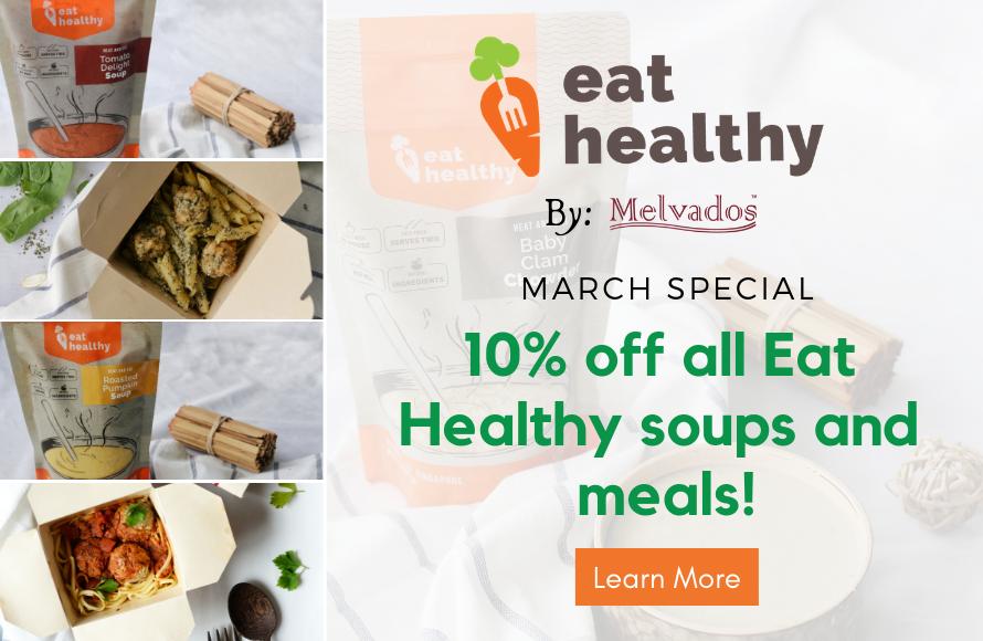 Eat Healthy Promo