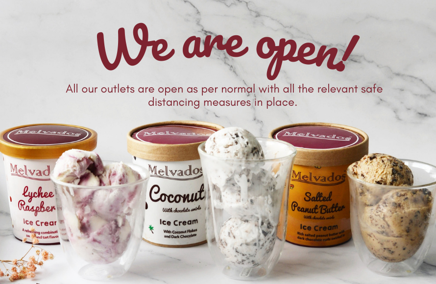 We are open outlets