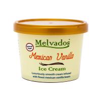 [Reduced Sugar] Mexican Vanilla Ice Cream - 120ml