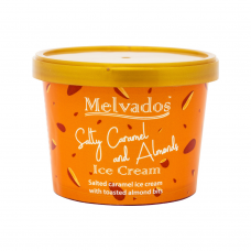 Salty Caramel and Almonds Ice Cream - 120ml