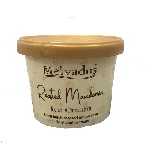Roasted Macadamia Ice Cream - 120ml