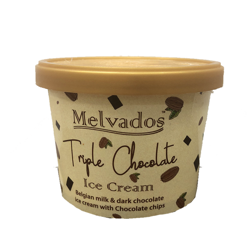 Triple Chocolate Ice Cream - 120ml