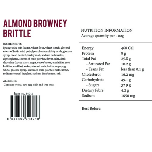 Almond Browney Brittle