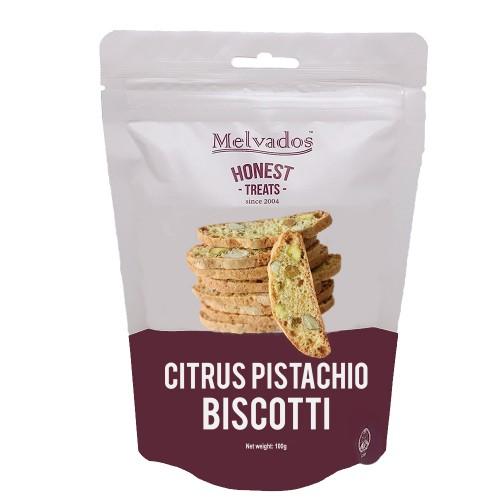 Citrus Pistachio Biscotti