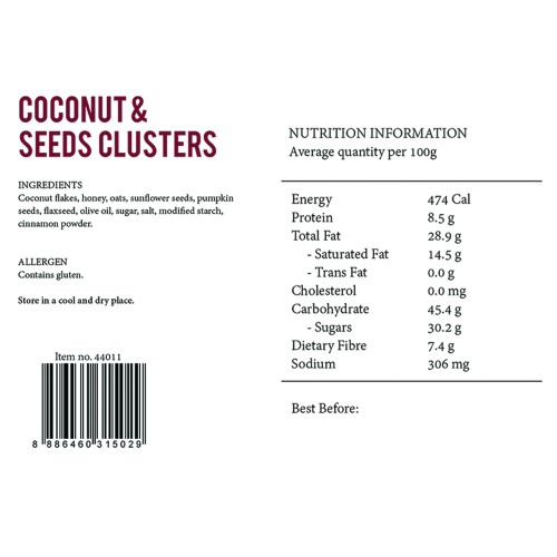 Coconut & Seed Clusters