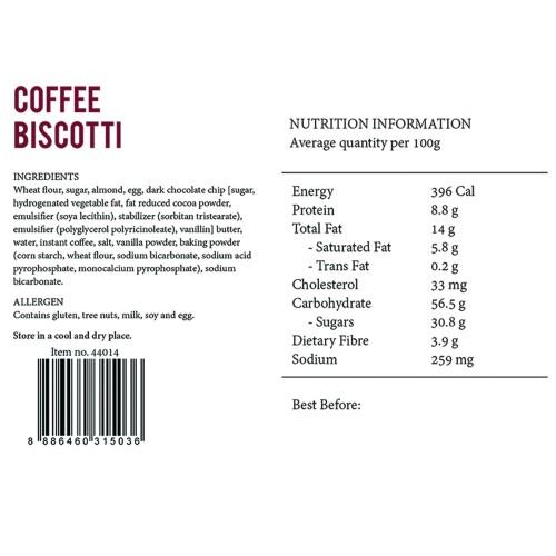 Coffee Biscotti