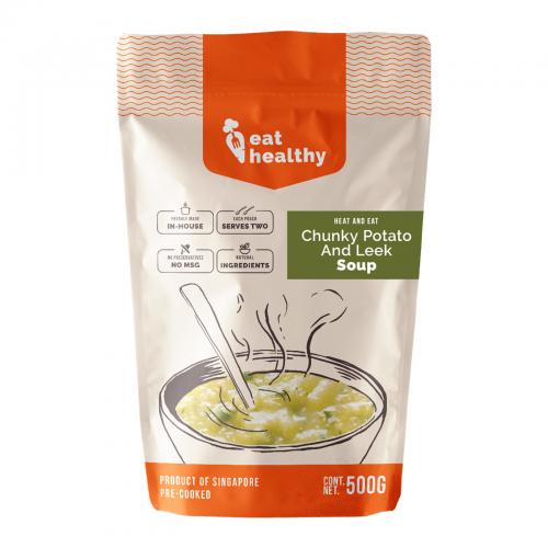 New! Chunky Potato & Leek Soup