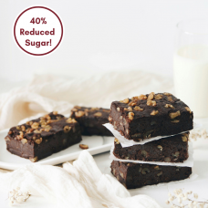 [Reduced Sugar] Dark Chocolate Brownie - 10pcs