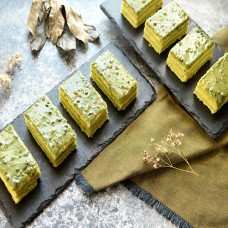 Pistachio Tray Cake - 4pcs