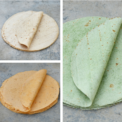 Tortilla Wraps Set - 3 for $12