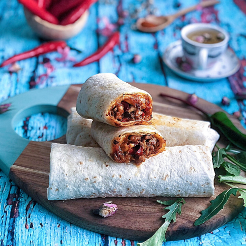 Korean Gochujang Chicken Wrap - 2pcs