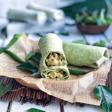 Thai Green Curry Wrap - 2pcs