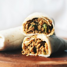 Chicken Keema Wrap - 8 small pieces